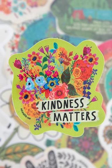 Kindness Matters~Vinyl Sticker