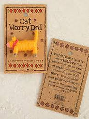 Natural Life Worry Doll Cat