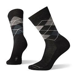 Smartwool Diamond Jim Charcoal Crew Socks