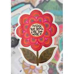You Be You~Vinyl Sticker