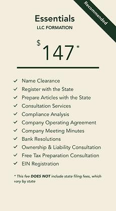 LLC Essentials Plan