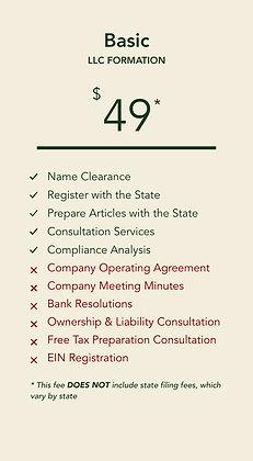 LLC Basic Plan