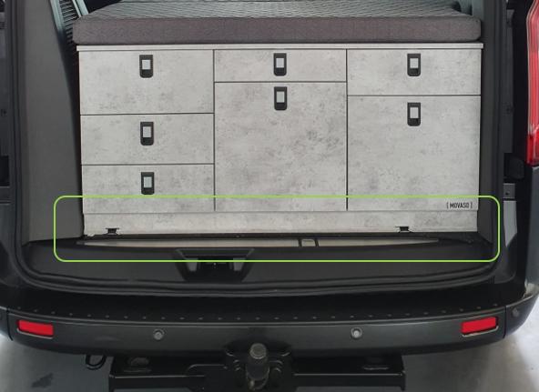 Sockel-Befestigungskit │ Ford Custom