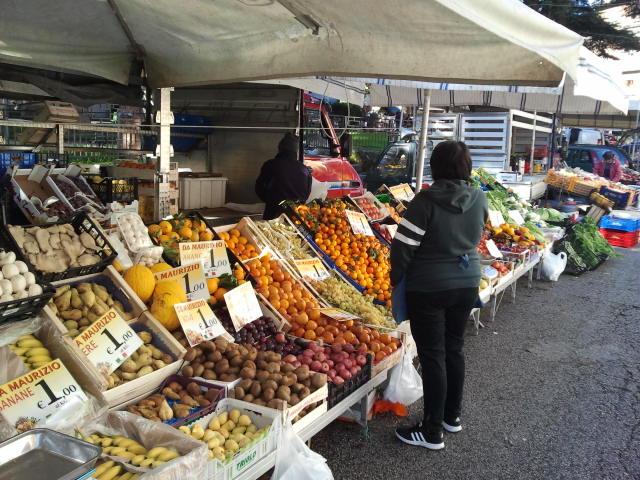 Ein Tag auf dem Markt