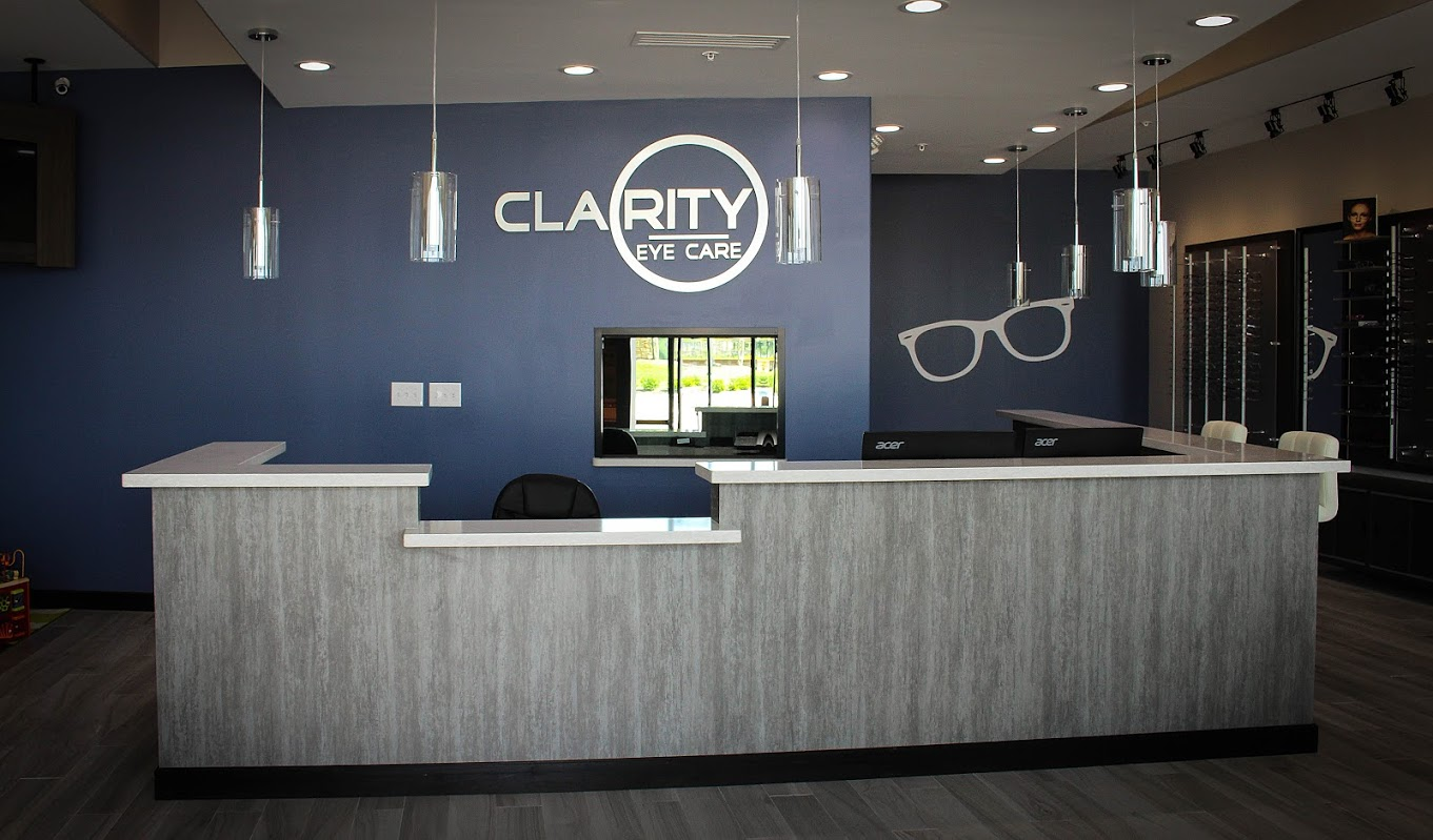 Clarity Eye Care Optometrist Katy TX front desk 2