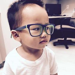 Happy Friday!! Max has good taste in glasses haha Kathy Vi Hoang