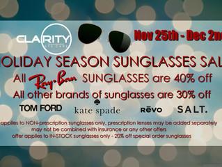 Holiday Sunglasses Sale