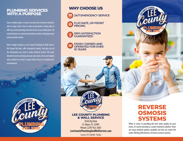 Lee County Plumbing Reverse Osmosis System Brochure