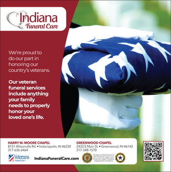 Indiana Funeral Care Ad