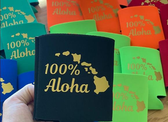 100% Aloha Coozie