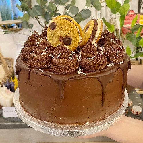 Cookie Pie Cake