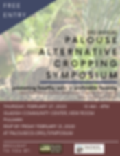 Palouse Alternative Cropping Symposium 2