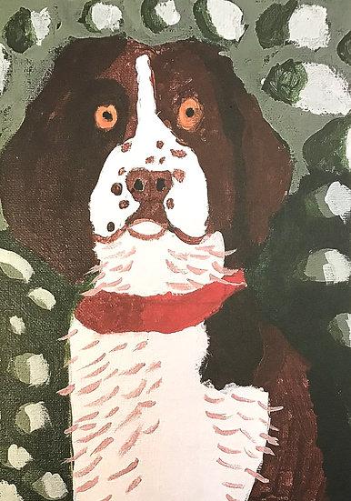 Kidz Art Truro Greeting Card - Dog 3