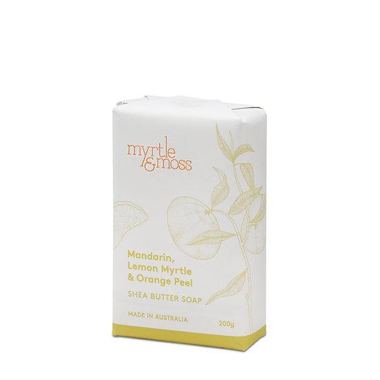 Myrtle & Moss Soap; Mandarin, Lemon Myrtle and Orange Peel