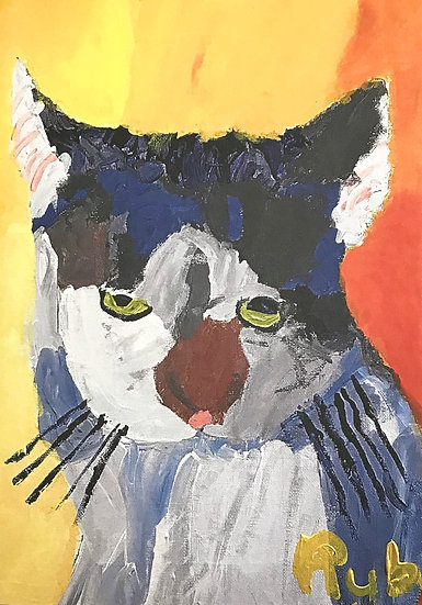 Kidz Art Truro Greeting Card - Cat 1