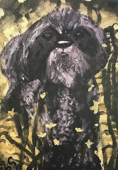 Kidz Art Truro Greeting Card - Dog 2