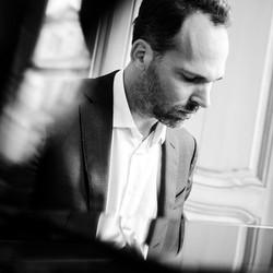 Pianist Joep Hullegie
