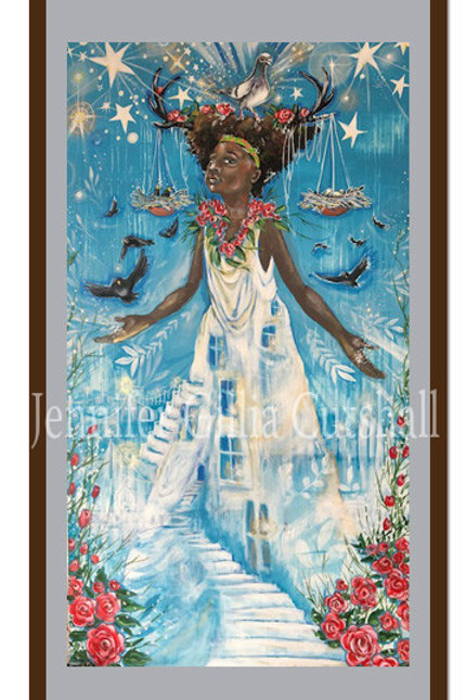 """GICLEE PRINT of """"Lady Justice"""""""