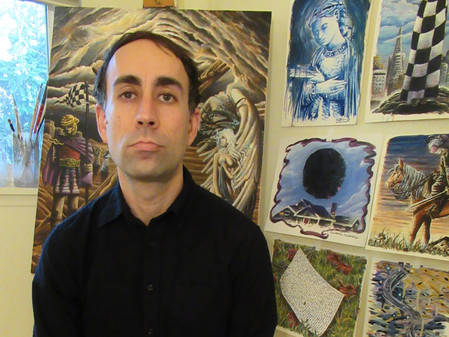 ARTIST-A-DAY-BLOG: Inside  A Generous Kingdom V...Along the road to Beulah with artist James Bradley