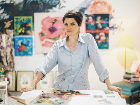 ARTIST-A-DAY BLOG: Inside A Generous Kingdom V Discovering w/ artist, Ashley Cecil