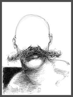 Portrait of Nietzsche