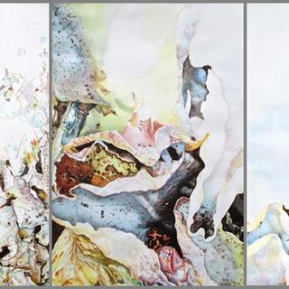 Grounscape I, II, and III (Triptych)