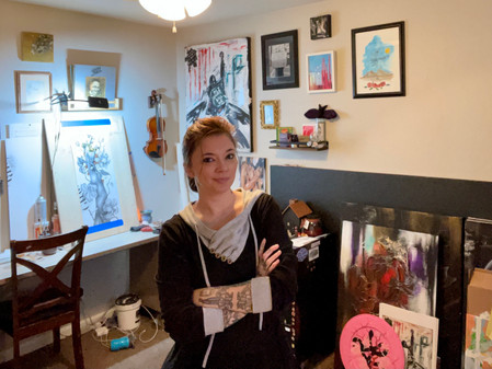 ARTIST-A-DAY BLOG: Inside A Generous Kingdom V  & the Delicate Power of artist, Brittany Noriega
