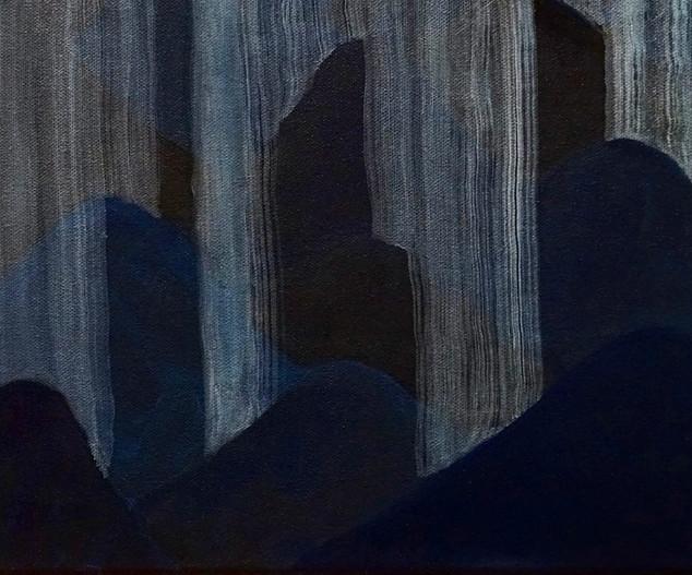 Rain Over the Blue Mountains