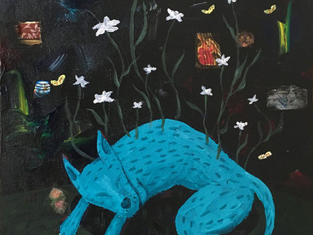 ARTIST-A-DAY BLOG: Inside A Generous Kingdom V  and the Mixed Media Realm of artist, Olivia Watson