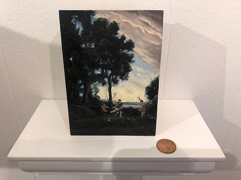 Spirit Flute at the shoreline(a mini treework original)
