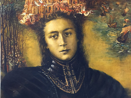 ARTIST-A-DAY BLOG: Inside A Generous Kingdom V and the Vast Realms of artist, Anna Ladyzhenskaya