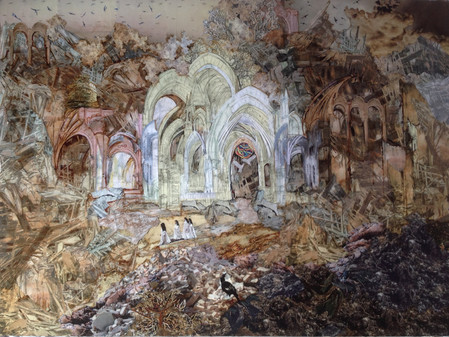 ARTIST-A-DAY BLOG Inside A Generous Kingdom V: The layers of history & hope of artist Cathy Wilkin