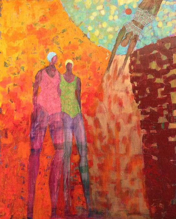 Free Falling by Cindy Geffel