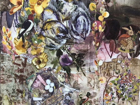 ARTIST-A-DAY-BLOG: Inside A Generous Kingdom V & the Complex Visual Tapestries of artist Maggy Aston