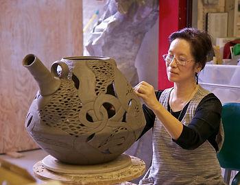 Diane KW Chen Ceramic Sculptor 112012 -