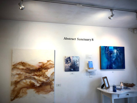 A TRIAD OF GLANCES: A 3rd LOOK at the 8th Annual Abstract Sanctuary: OPEN NOW