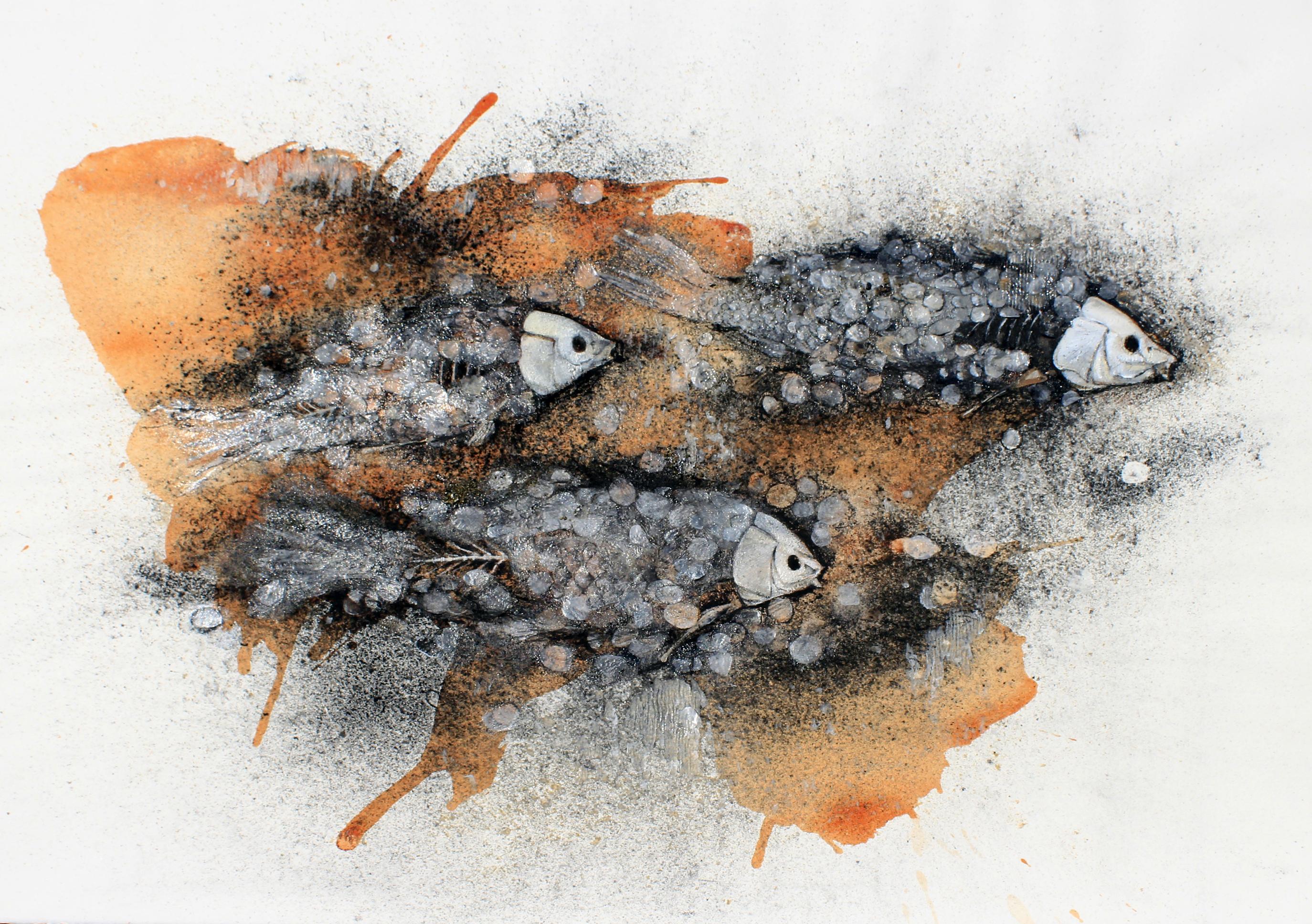 Three Still Fish by Doug Anderson