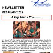 feb 21 Newsletter