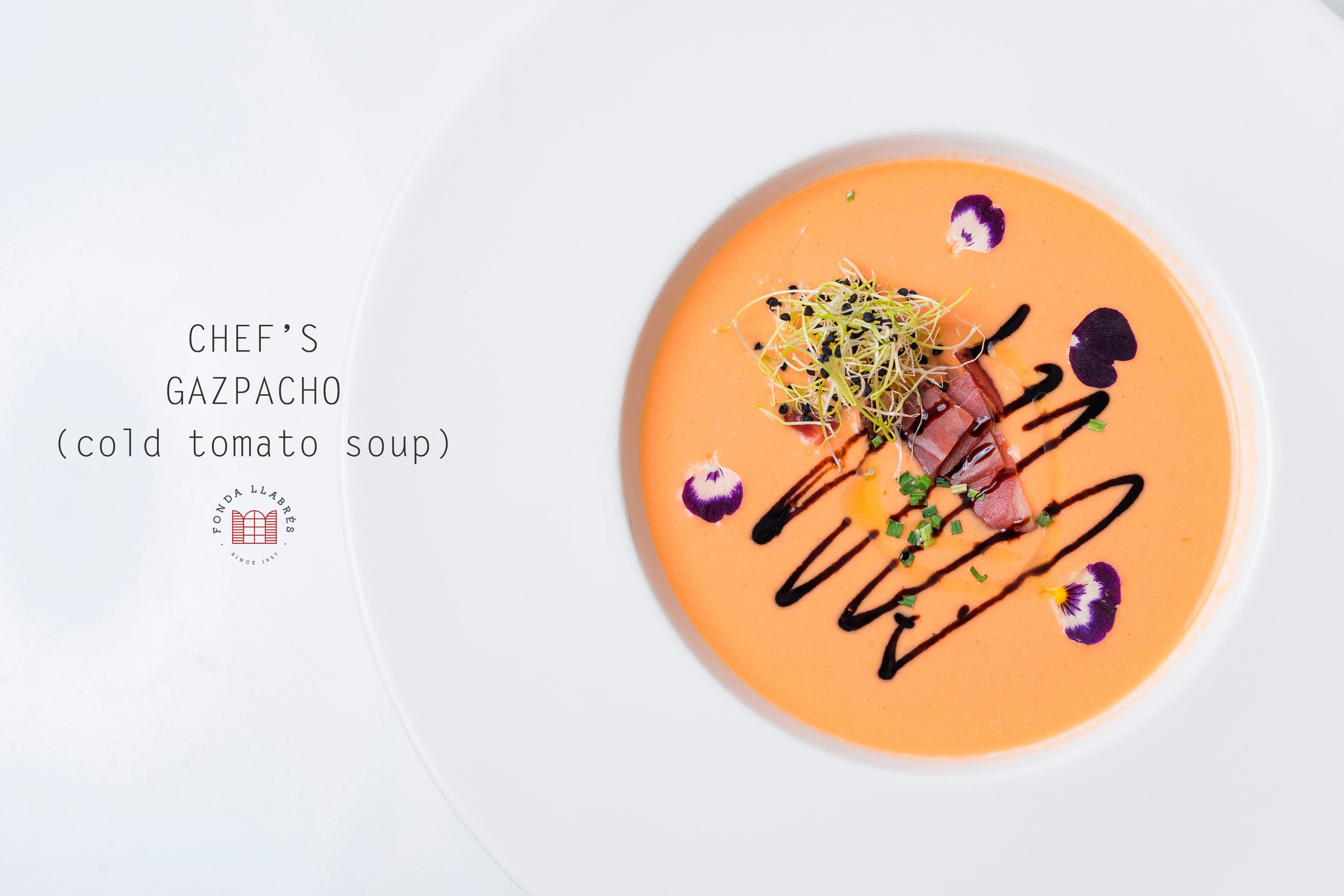 Gazpacho del Chef @fondallabres