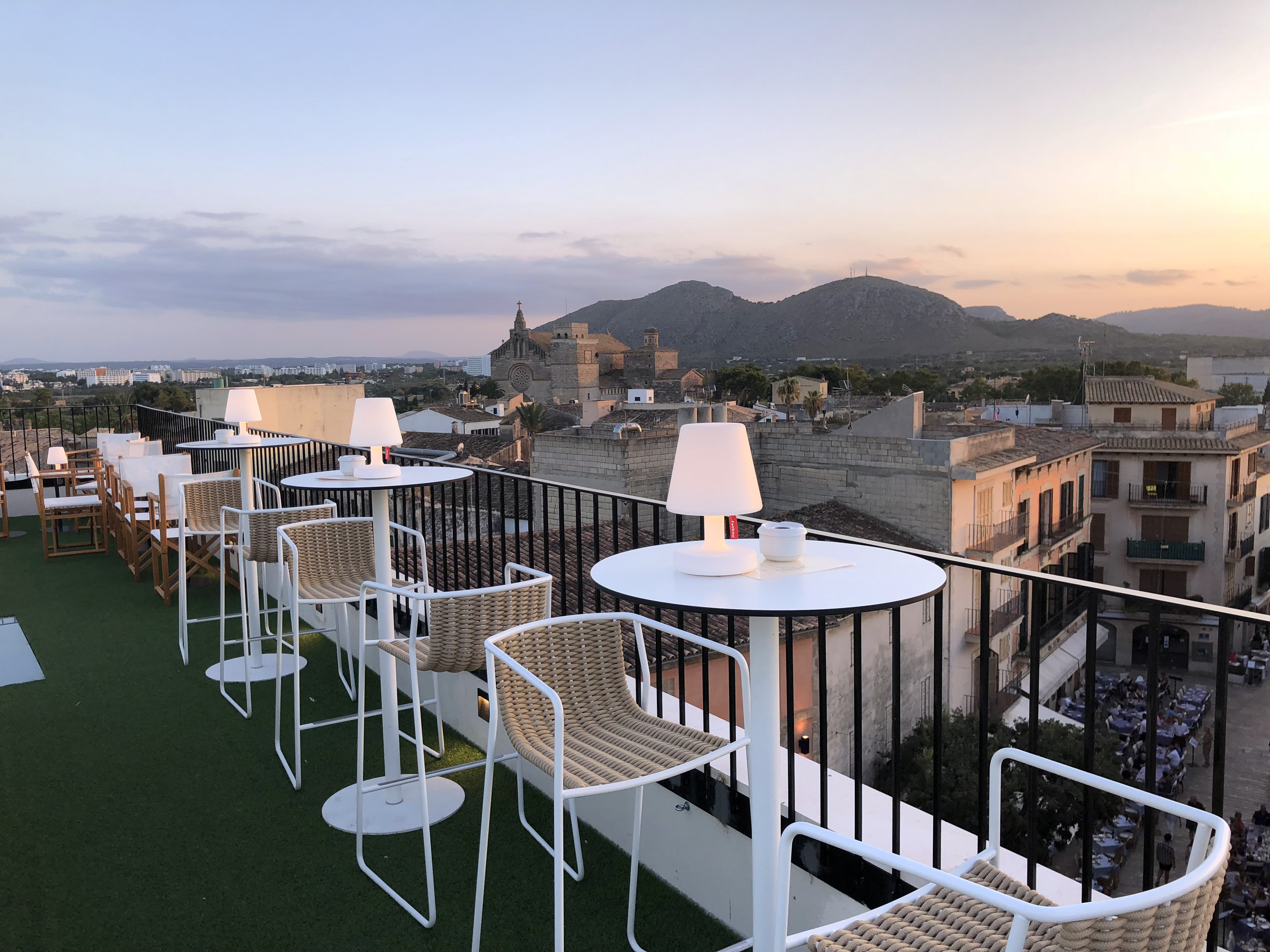 "Roof top ""The Sky of Alcudia"""