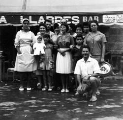 Familia Llabrés y amigos franceses
