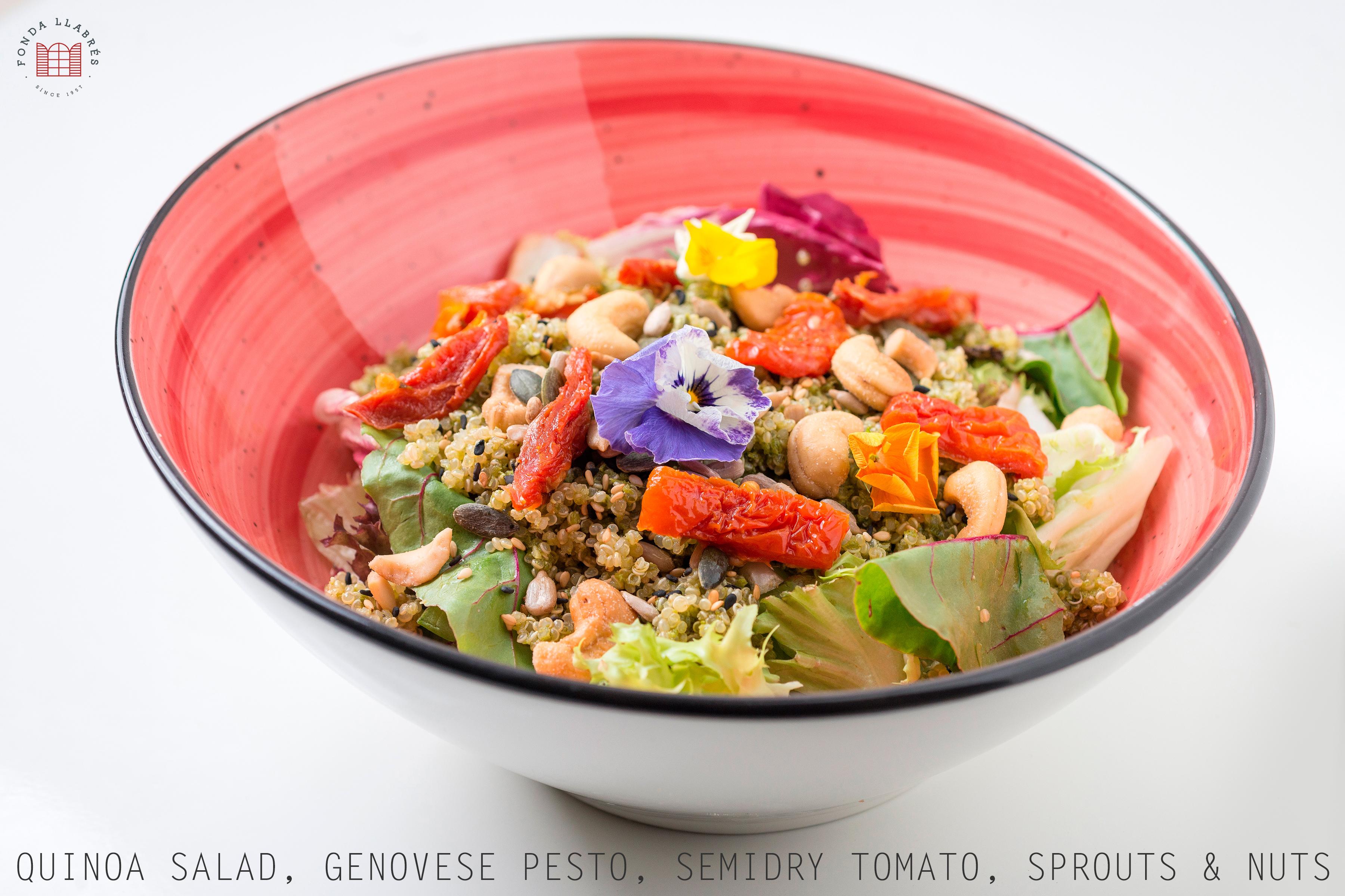 Quinoa Salad @fondallabres