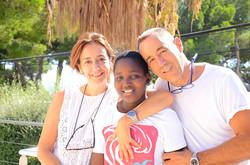 Buba, Alicia y Suso