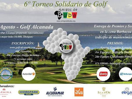 """VI Torneo de Golf """"Amigos de Buba"""""""