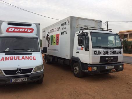 Nueva furgoneta y camión para Amigos de Buba