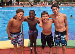 Buba y sus amigos en Hidropark