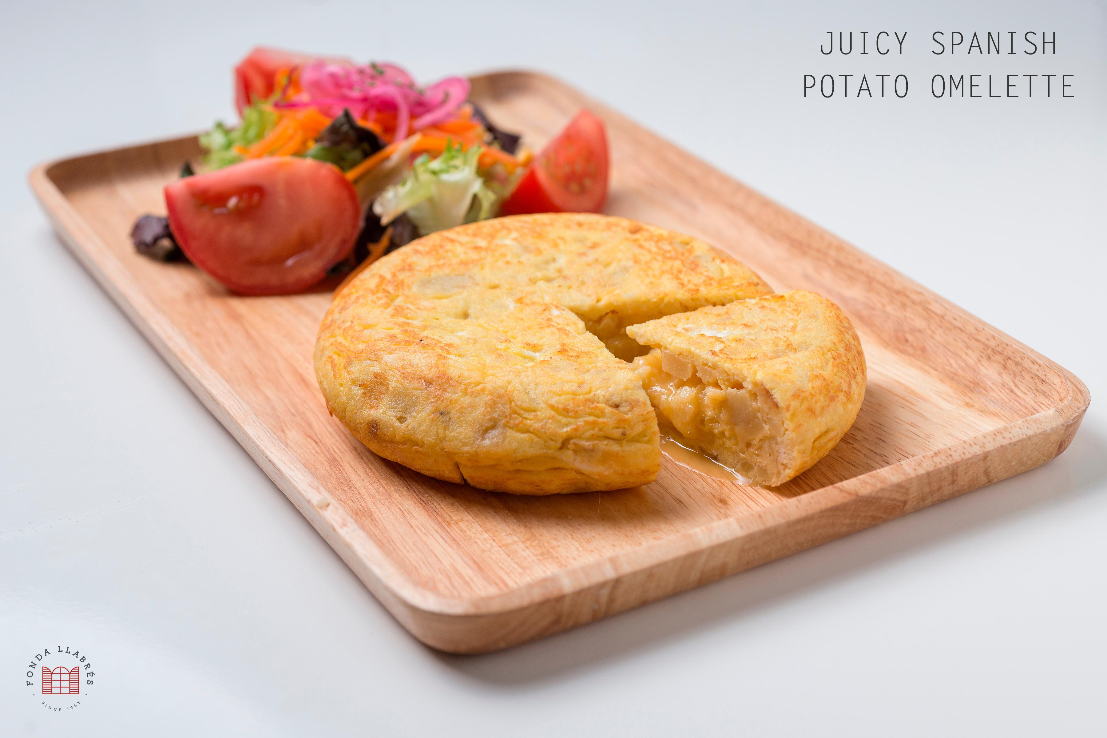 Tortilla jugosa @fondallabres