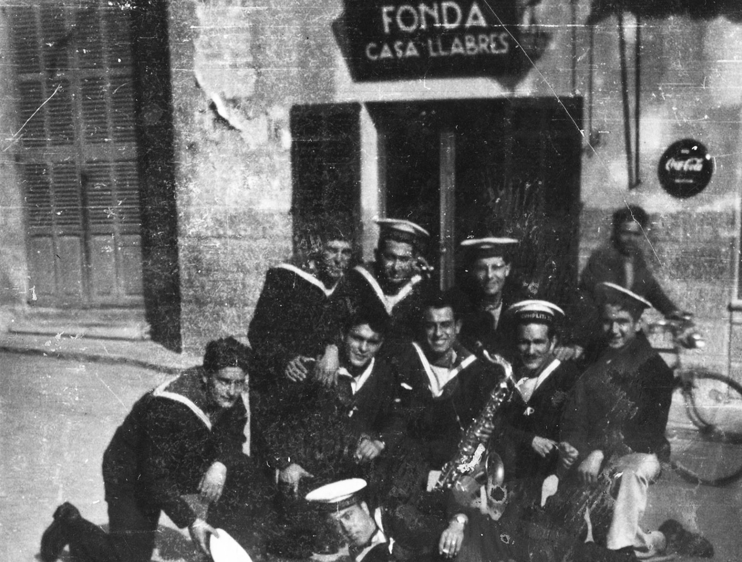 Musicians in the Fonda Llabres