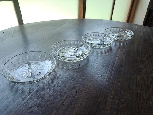 切子ガラス小皿