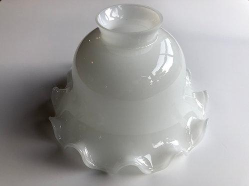 ガラスの電傘 白フリル